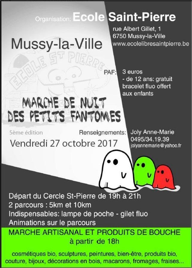 Marche de nuit à Mussy-la-Ville 2017